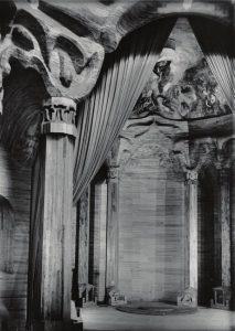 Particolare del secondo Goetheanum (evoluzione dei culti misterici)