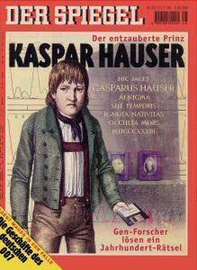 Copertina su Kaspar Hauser del nr. 48 di Der Spiegel, del 26/11/1996