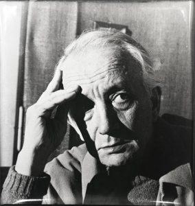 Massimo Scaligero in una foto dell'Architetto Leti Messina
